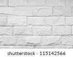 Monochrome Shot Of Brick Wall...