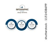 modern infographics template   Shutterstock .eps vector #1151438699