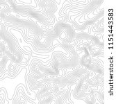 topographic map background.... | Shutterstock .eps vector #1151443583