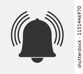 notification bell icon. vecor...