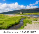ardvreck castle  loch assynt ... | Shutterstock . vector #1151450819