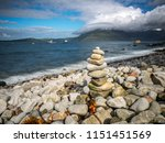 stone tower at elgol  isle of... | Shutterstock . vector #1151451569