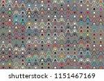 geometric beautiful pattern | Shutterstock .eps vector #1151467169