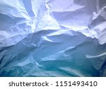 crumpled paper texture... | Shutterstock . vector #1151493410