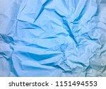 crumpled paper texture... | Shutterstock . vector #1151494553