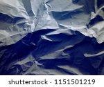 crumpled paper texture... | Shutterstock . vector #1151501219