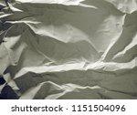crumpled paper texture... | Shutterstock . vector #1151504096