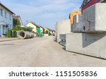 renovation of a sewerage system ... | Shutterstock . vector #1151505836