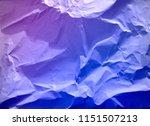 crumpled paper texture... | Shutterstock . vector #1151507213