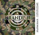 brandish on camouflaged texture | Shutterstock .eps vector #1151512160