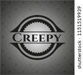 creepy retro style black emblem | Shutterstock .eps vector #1151519939