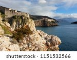 view of the old city in... | Shutterstock . vector #1151532566