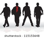business man | Shutterstock .eps vector #115153648