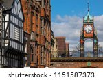 a view of the elegant eastgate... | Shutterstock . vector #1151587373