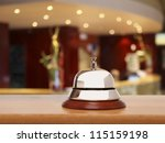 service bell at the hotel | Shutterstock . vector #115159198
