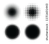 abstract halftone backgrounds.... | Shutterstock . vector #1151601443