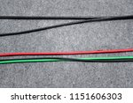 color electric power wire cable ... | Shutterstock . vector #1151606303
