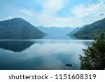 bay of kotor  also known as... | Shutterstock . vector #1151608319