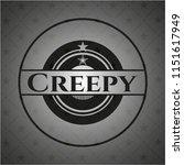 creepy realistic dark emblem | Shutterstock .eps vector #1151617949