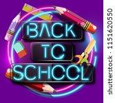back to school | Shutterstock .eps vector #1151620550