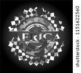 africa on grey camo pattern | Shutterstock .eps vector #1151622560