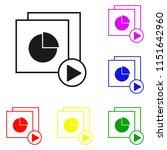 elements of pie chart in multi...