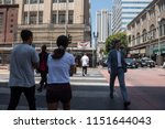 los angeles  usa   august 03 ... | Shutterstock . vector #1151644043