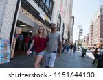 los angeles  usa   august 03 ... | Shutterstock . vector #1151644130