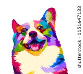 Colorful Happy Dogs Smile...