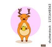 vector image. christmas icon... | Shutterstock .eps vector #1151648363