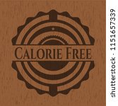 calorie free realistic wooden... | Shutterstock .eps vector #1151657339