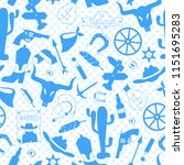 seamless pattern on the theme... | Shutterstock .eps vector #1151695283