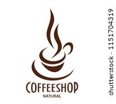 natural coffeeshop and coffee... | Shutterstock .eps vector #1151704319