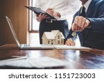 real estate agent and sales... | Shutterstock . vector #1151723003