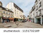 cherbourg octeville  france  ... | Shutterstock . vector #1151732189
