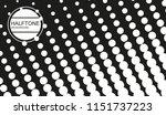 vector halftone background. | Shutterstock .eps vector #1151737223