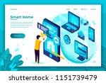 vector concept illustration   ... | Shutterstock .eps vector #1151739479