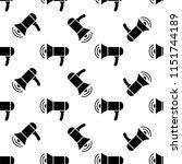 megaphone icon  loudspeaker  ... | Shutterstock .eps vector #1151744189