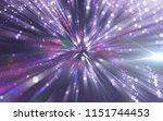 abstract violet background.... | Shutterstock . vector #1151744453