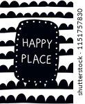 nursery printable art children... | Shutterstock .eps vector #1151757830