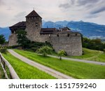 medieval castle with a... | Shutterstock . vector #1151759240