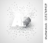 machine learning  artificial...   Shutterstock .eps vector #1151769419