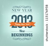 2013   Calligraphic New Year...
