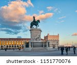 6 march 2018  lisbon  portugal  ... | Shutterstock . vector #1151770076