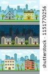 set of three vector... | Shutterstock .eps vector #1151770256