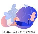 online shopping. freelance.... | Shutterstock .eps vector #1151779946