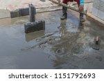 masonry cement is a mixture of... | Shutterstock . vector #1151792693