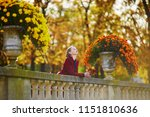 beautiful young woman with...   Shutterstock . vector #1151810636