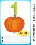 printable worksheet for... | Shutterstock .eps vector #1151826626