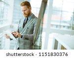 portrait of confident... | Shutterstock . vector #1151830376